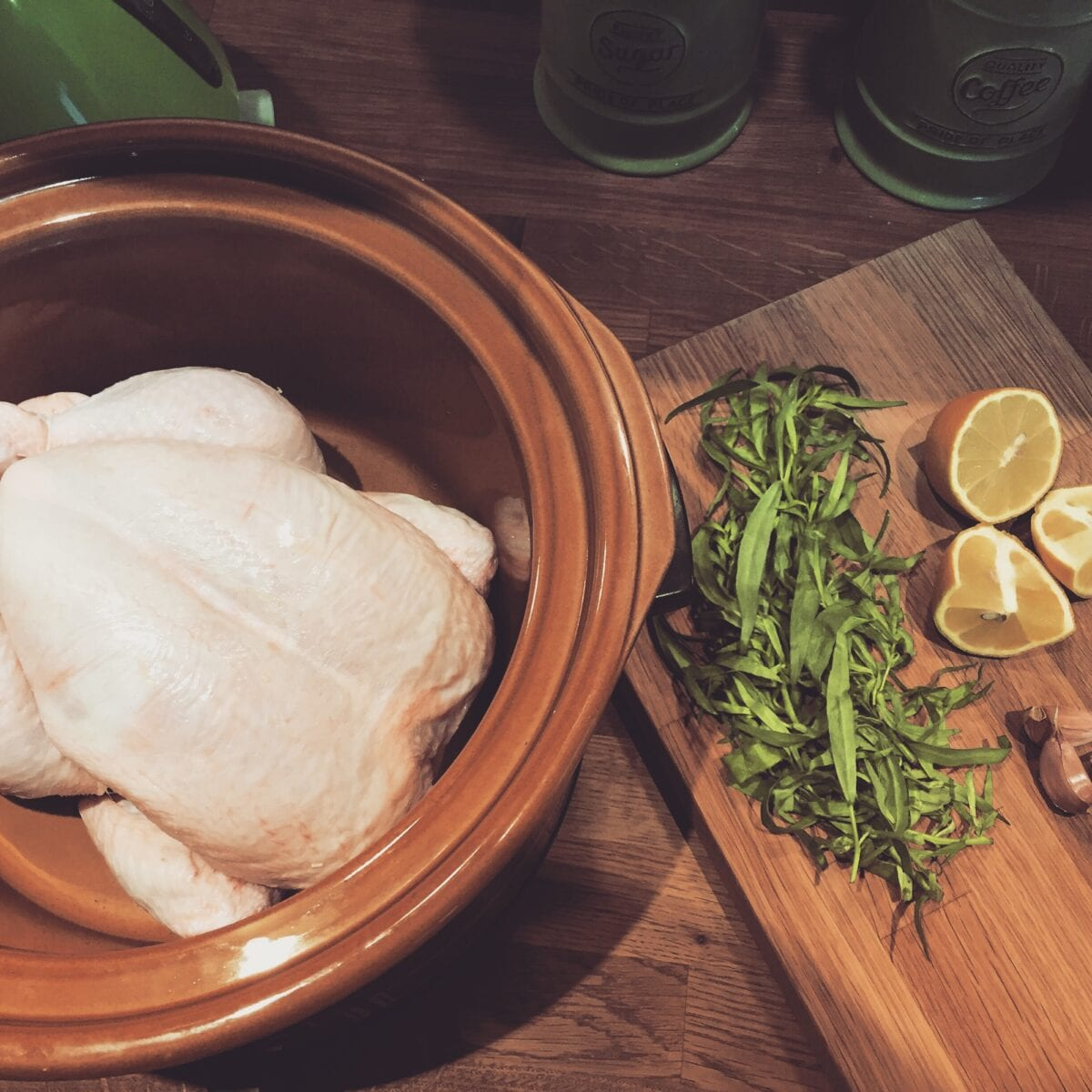 Slow Cooker Tarragon Chicken