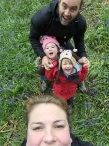 Afternoon out not complete without a family selfy...