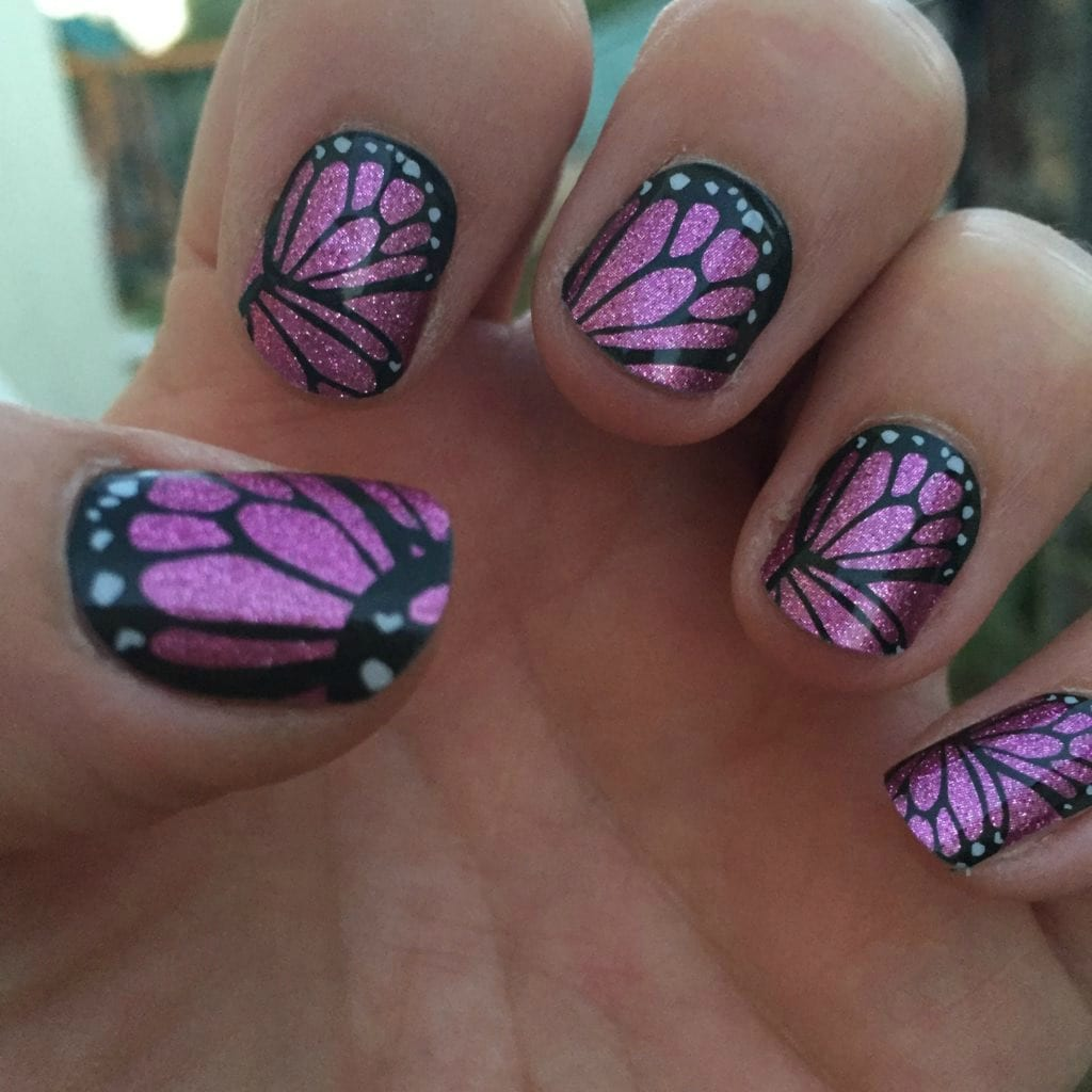 Jamberry Butterfly Kisses