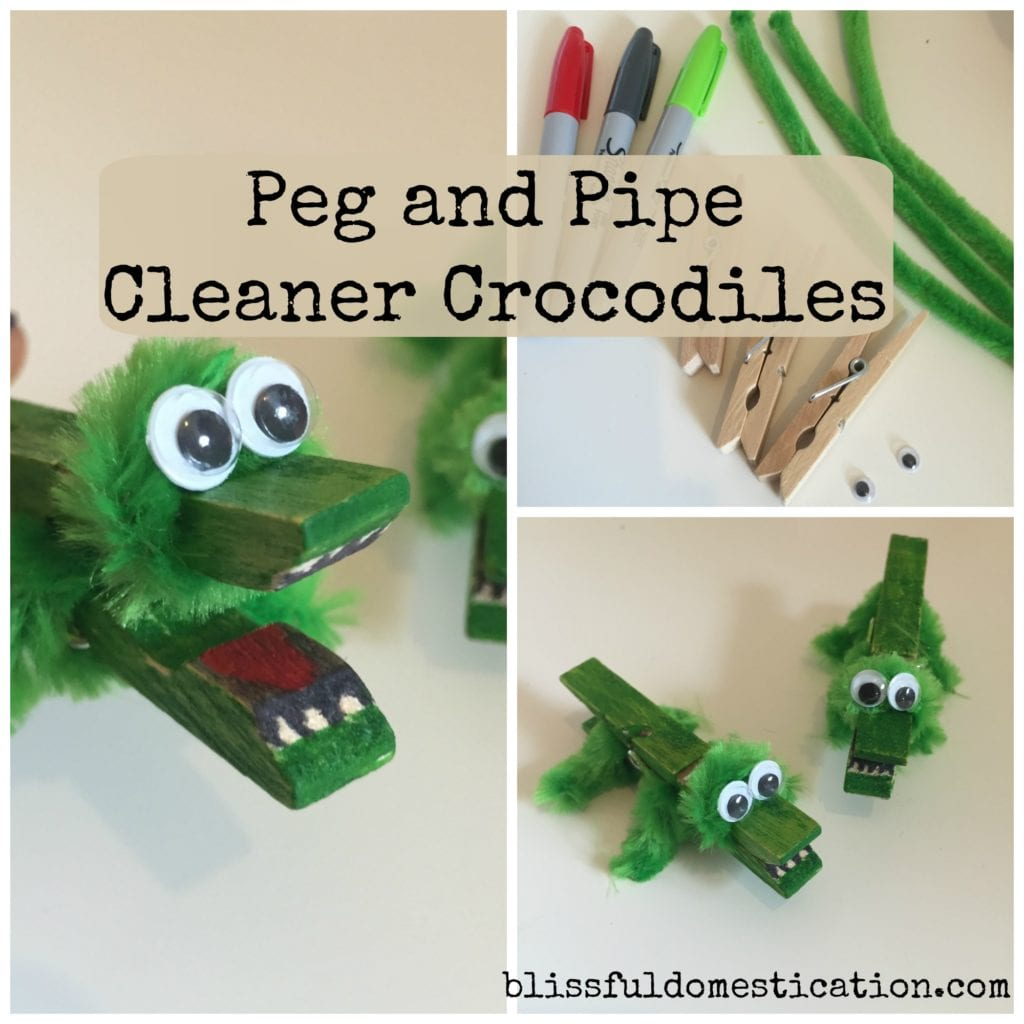 Peg crocodiles