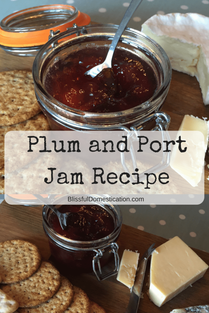 Plum and Port Jam Recipe