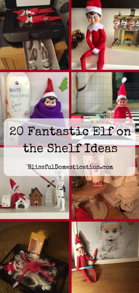 20 Fantastic Elf on the Shelf Ideas
