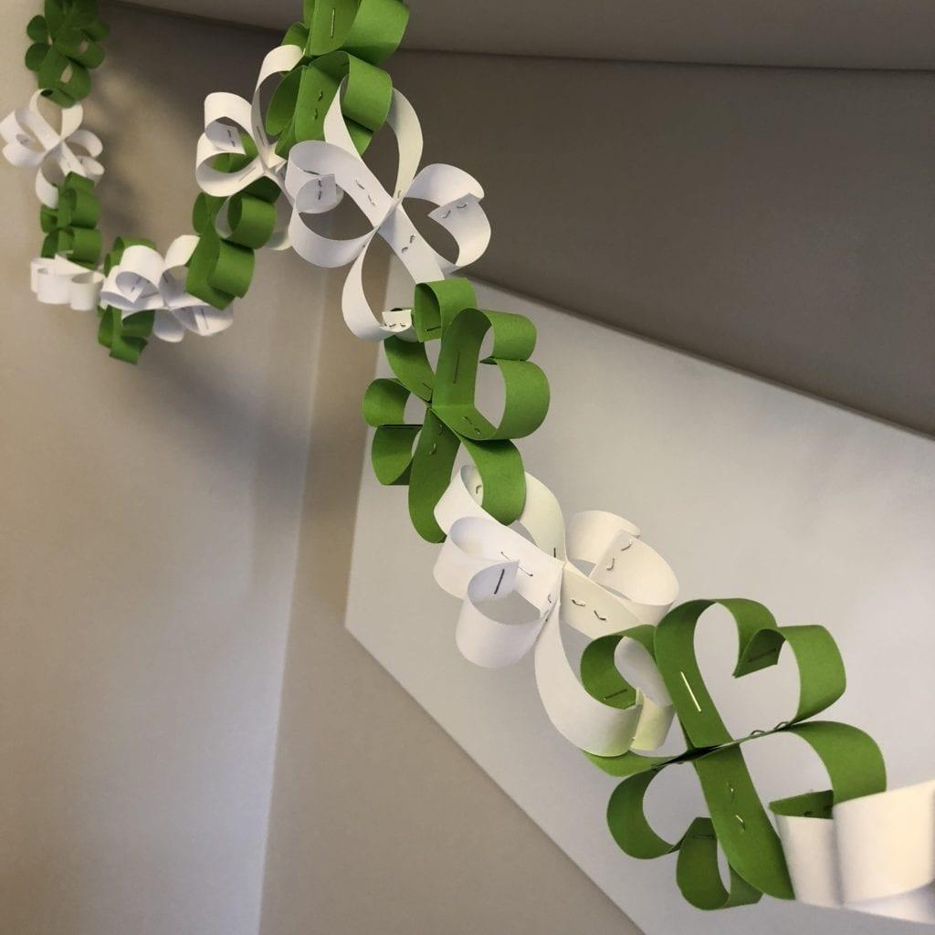 Shamrock Paper Chain