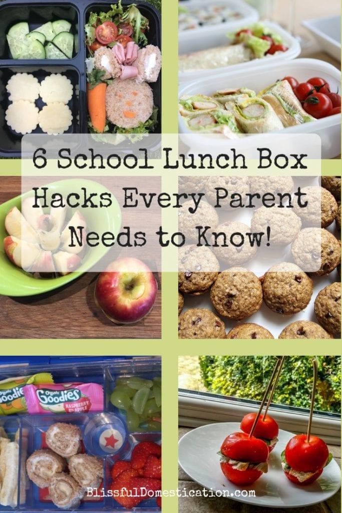 School lunch box hacks
