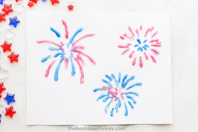Fireworks and Bonfire Night Crafts for Kids