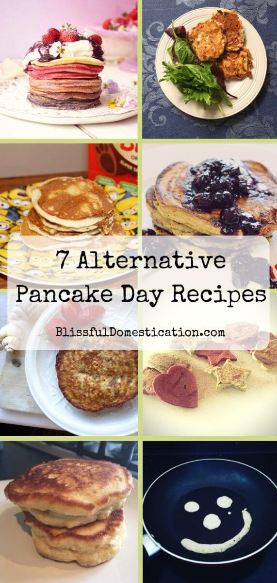 7 Alternative Pancake Day Recipes
