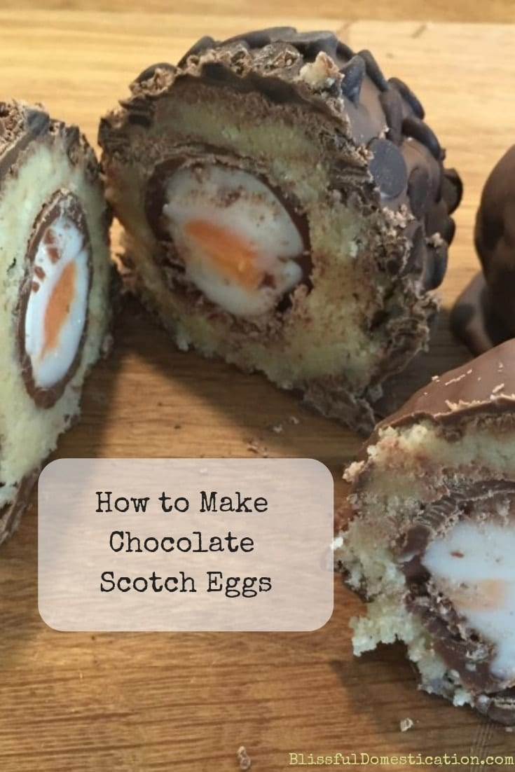 Chocolate Scotch Eggs Pin