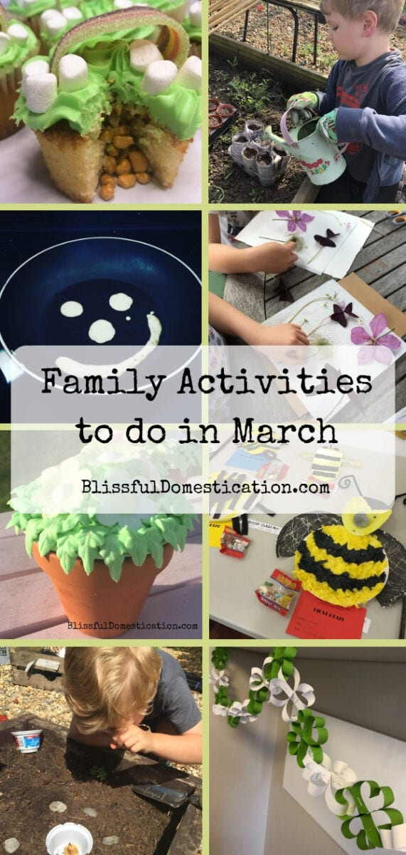 Family Activities To Do In March