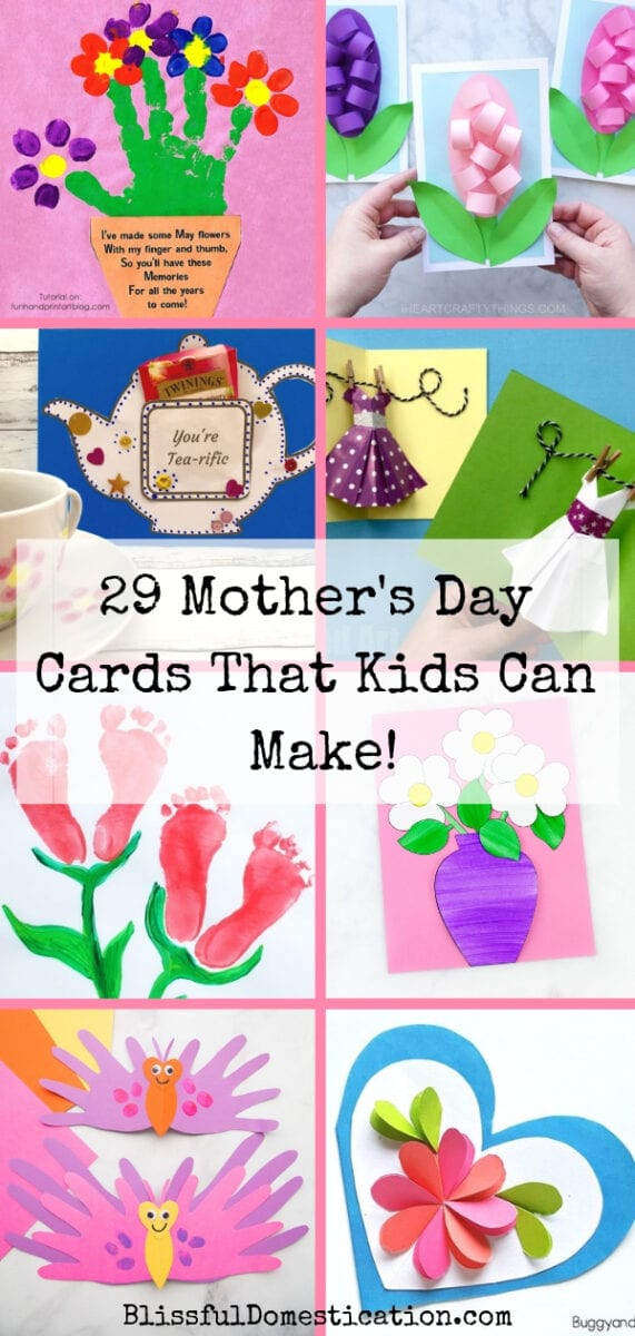 mothers day cards made by toddlers