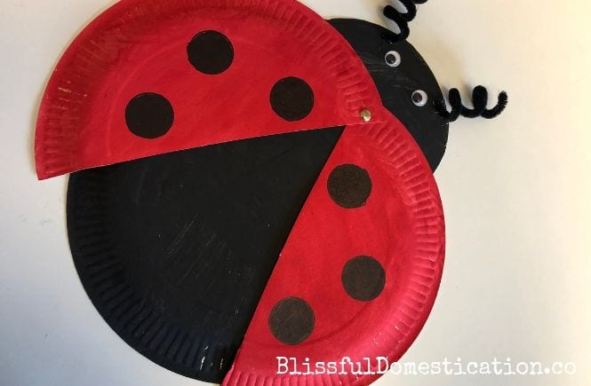 Featured Image for How to Make a Paper Plate Ladybird