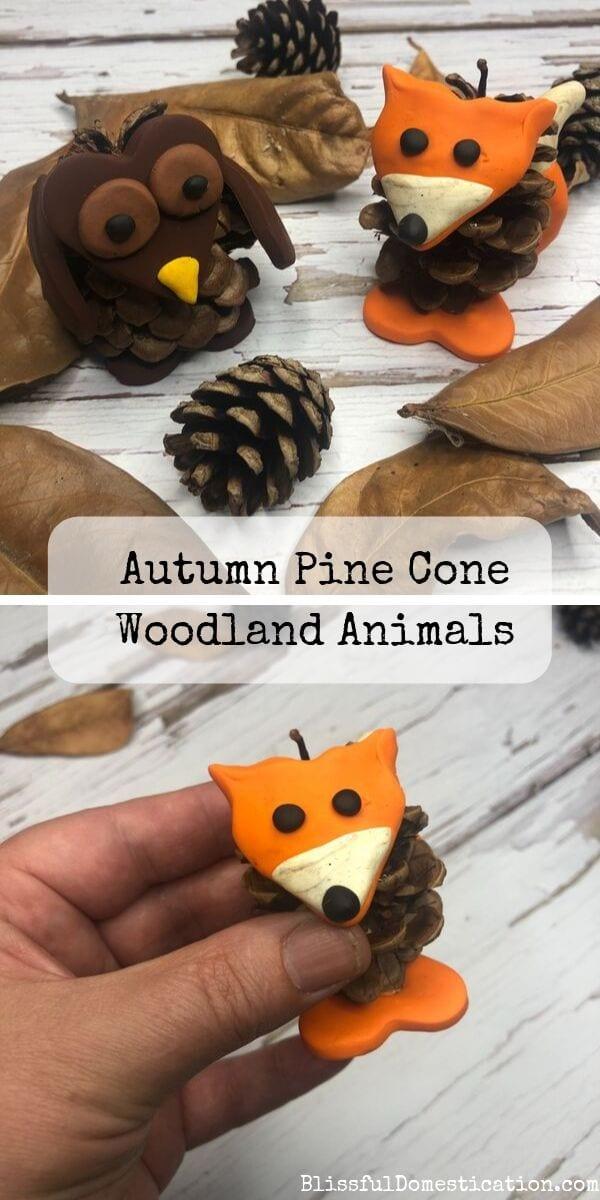 pine cone animals pin image