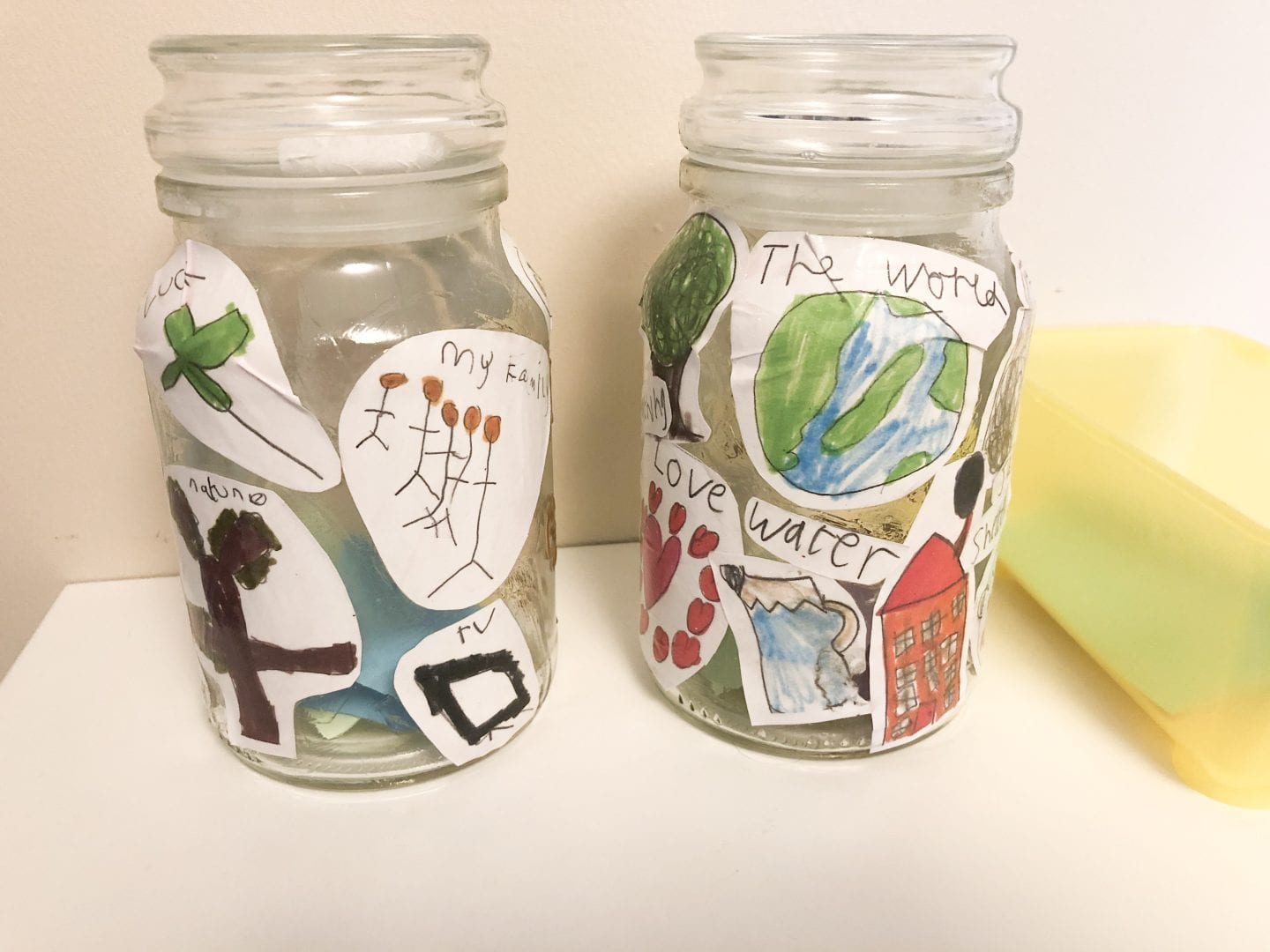 Simple Kids Gratitude Jar Craft Blissful Domestication