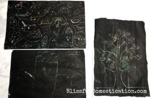 DIY Scratch Art for kids featured image
