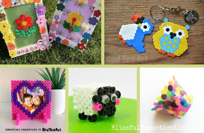 Perler bead craft projects featured image